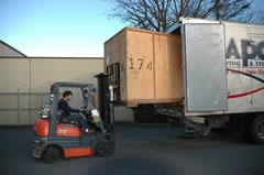 Atlas Van Lines Container Truck