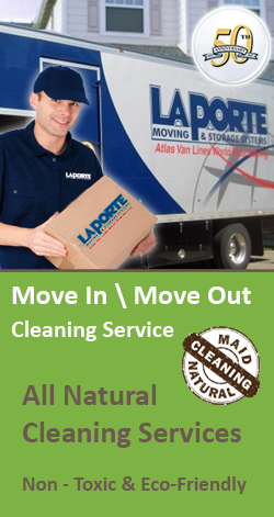 LaPorte Moving & Maid Natural Cleaning Partner